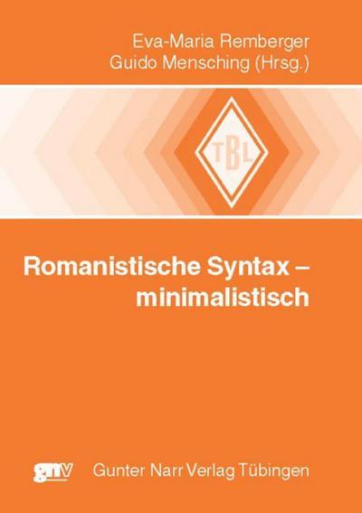 Romanistische Syntax - minimalistisch