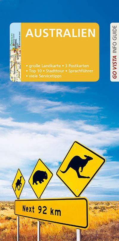 GO VISTA: Reiseführer Australien: Mit Faltkarte und 3 Postkarten (Go Vista Info Guide)