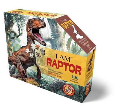 MADD CAPP Shape Puzzle Junior - Velociraptor 100 Teile