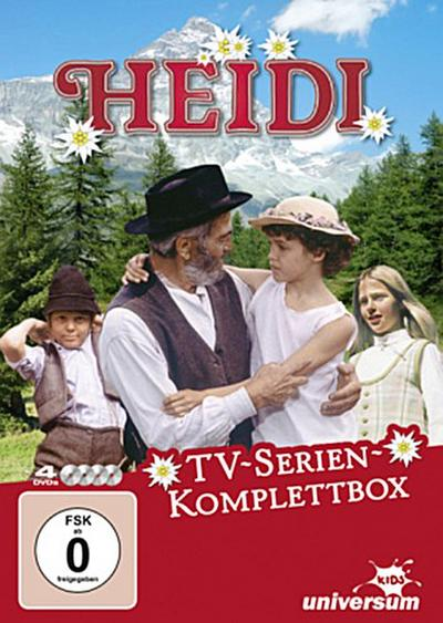 Heidi Realserie - Komplettbox