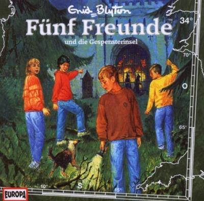 Fünf Freunde 034: ... und die Gespensterinsel