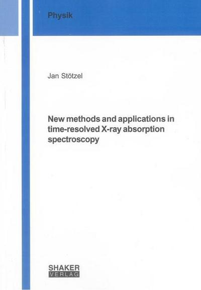 New methods and applications in time-resolved X-ray absorption spectroscopy