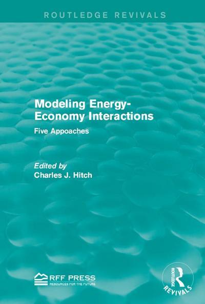 Modeling Energy-Economy Interactions