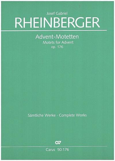 Advent-Motetten op.176 : fürgem Chor a cappella