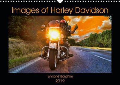 Images of Harley Davidson (Wall Calendar 2019 DIN A3 Landscape)