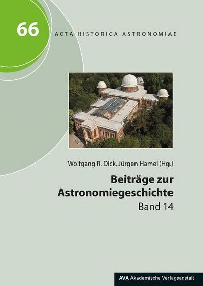 Beiträge zur Astronomiegeschichte