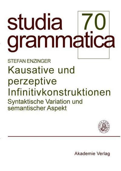 Kausative und perzeptive Infinitivkonstruktionen