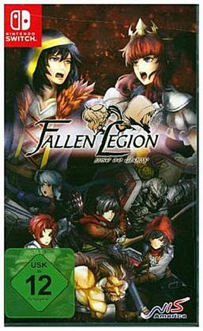 Fallen Legion, Rise to Glory, 1 Nintendo Switch-Spiel