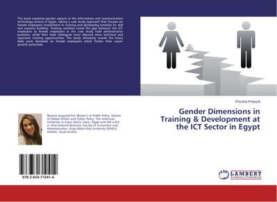 Gender Dimensions in Training & Development at the ICT Sector in Egypt