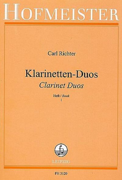Klarinetten-Duos 1