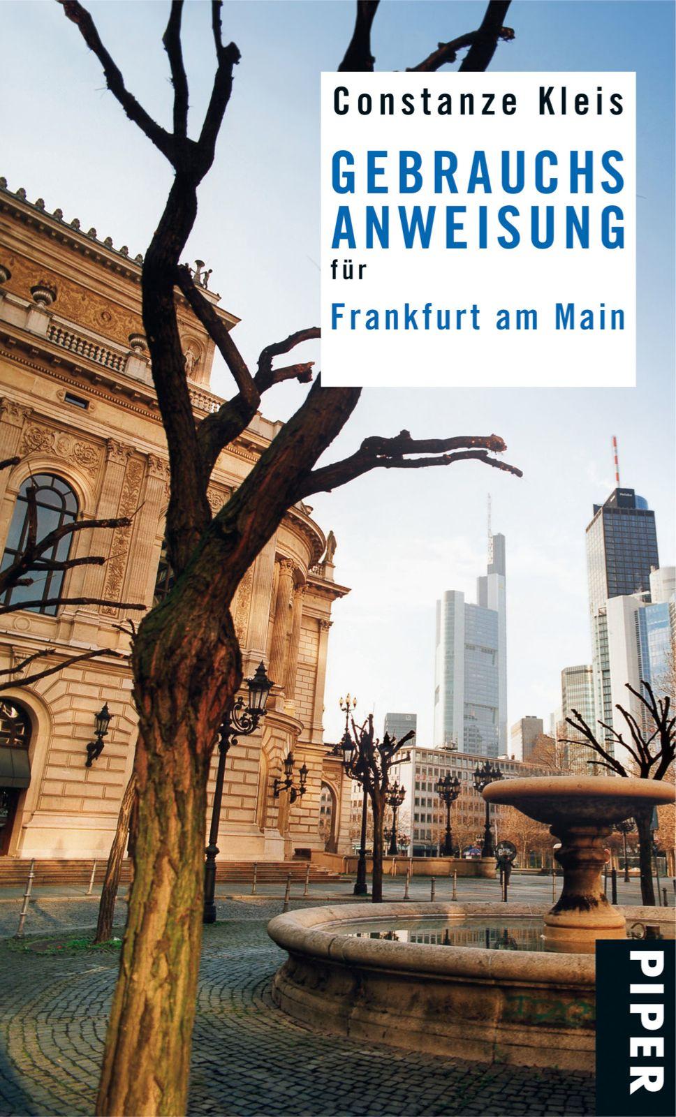 Gebrauchsanweisung für Frankfurt am Main Constanze Kleis