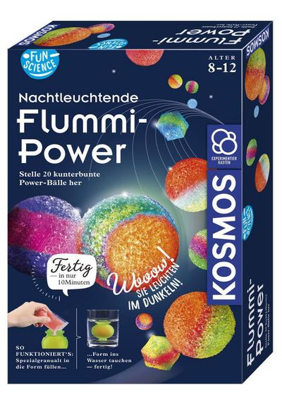 Fun Science Nachtleuchtende Flummi-Power (Experimentierkasten)