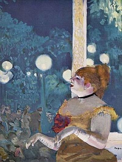 Edgar Germain Hilaire Degas - Im Konzertcafé: Das Lied des Hundes - 1.000 Teile (Puzzle)