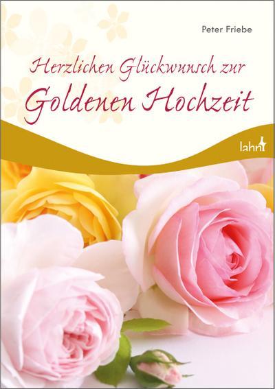 Herzlichen Glückwunsch zur Goldenen Hochzeit