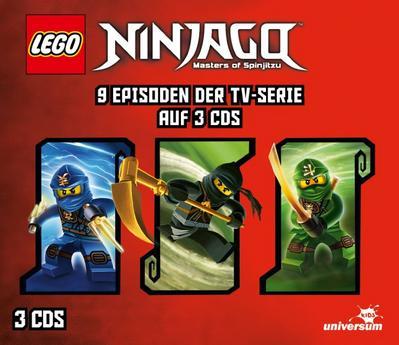 LEGO® Ninjago Hörspielbox 2