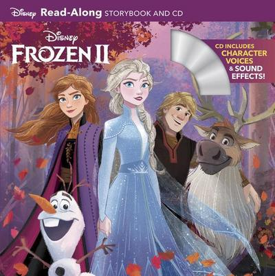 Frozen 2: Read-Along Storybook and CD