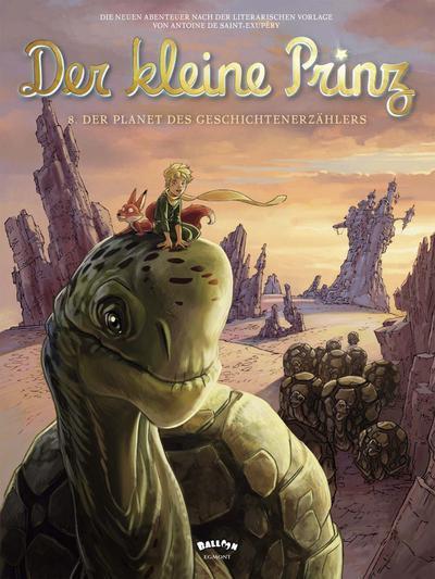 Der kleine Prinz, Band 08: Der Planet des Geschichtenerzählers