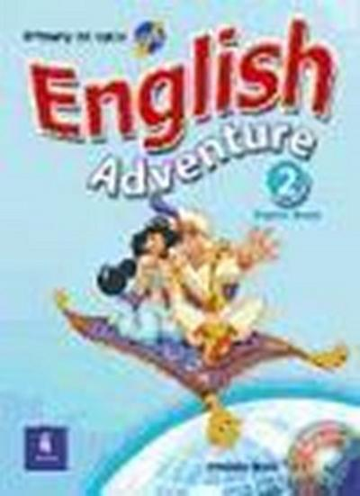 English Adventure 2 Pupil'S Book [Broschiert] by Bruni, Cristiana