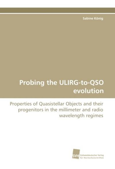 Probing the ULIRG-to-QSO evolution