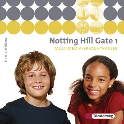 Notting Hill Gate, Ausgabe 2007 5. Schuljahr, 1 CD-ROM 'Multimedia-Sprachtrainer'
