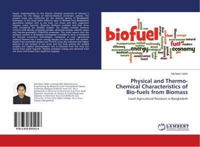 Physical and Thermo-Chemical Characteristics of Bio-fuels from Biomass