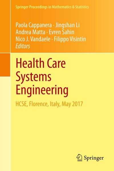 Health Care Systems Engineering