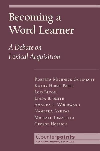 Becoming a Word Learner
