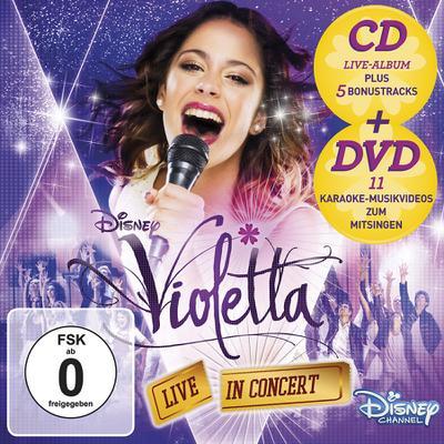 Violetta: Live in Concert (Staffel 2, Vol. 2). Deluxe Edition