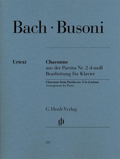 Chaconne aus der Partita Nr. 2  d-moll BWV 1004