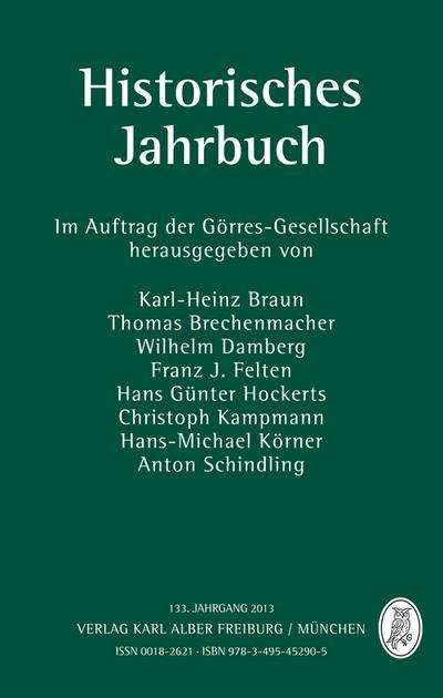 Historisches Jahrbuch 133. Jahrgang 2013