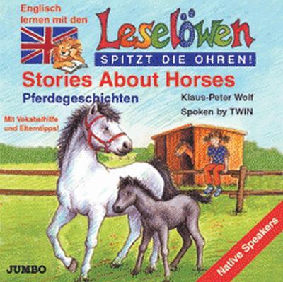 Leselöwen spitzt die Ohren. Stories about horses. Cassette.