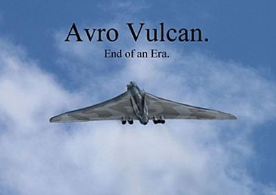 Avro Vulcan. End of an Era. (Poster Book DIN A4 Landscape)