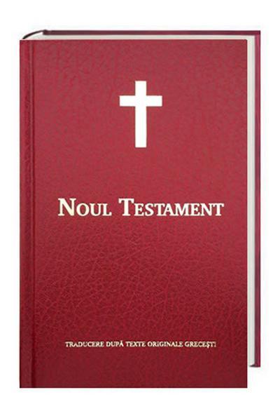 Bibelausgaben Neues Testament Rumänisch - Noul Testament, Traditionelle interkonfessionelle Übersetzung, Kunstleder rot