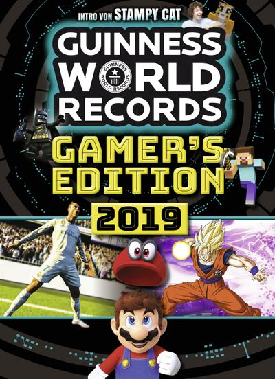 Guinness World Records Gamer's Edition 2019; Deutschsprachige Ausgabe; Hrsg. v. Guinness World Records Ltd.; Übers. v. Heinlin, Bastian; Deutsch; durchg. farb. Fotos