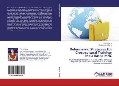 Determining Strategies For Cross-cultural Training- India Based MNC