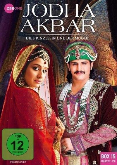 Jodha Akbar - Die Prinzessin und der Mogul. Box 15 (Folge 197-210). 3 DVD