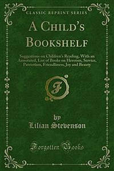 A Child's Bookshelf