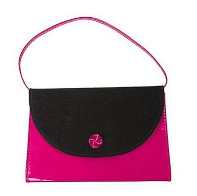Nirv, My Purse Bible, Leathersoft, Pink/Black