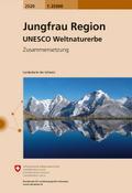 Swisstopo 1 : 25 000 Jungfrau Region