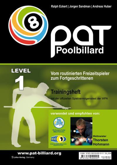 Pool Billard Trainingsheft PAT 1