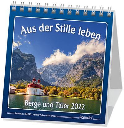 Kalender Aus der Stille leben, Berge