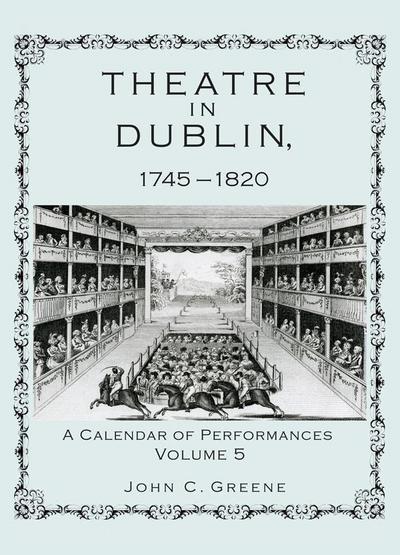 Theatre in Dublin, 1745-1820