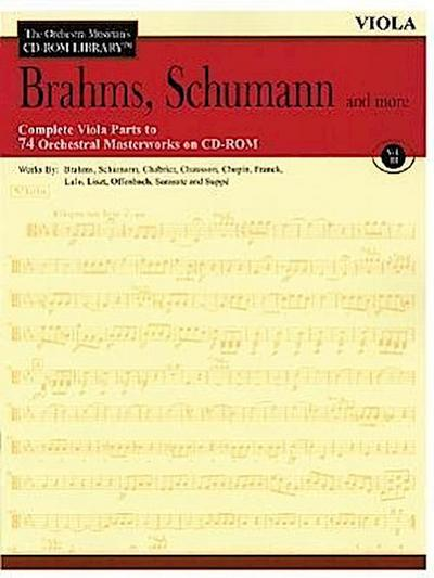 Brahms, Schumann and More: The Orchestra Musician's CD-ROM Library Vol. III