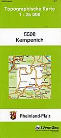 Kempenich 1 : 25 000