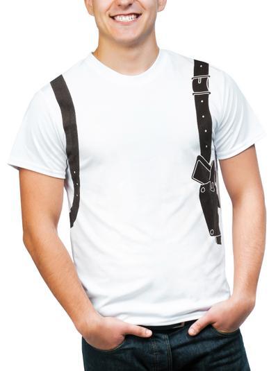 Krimiwelt Herrenshirt Halfter Gr.XL