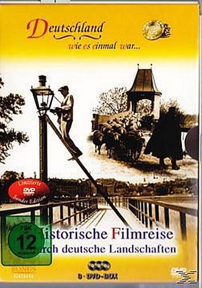 Deutschland wie es einmal war... - Historische Filmreise durch deutsche Landschaften DVD-Box