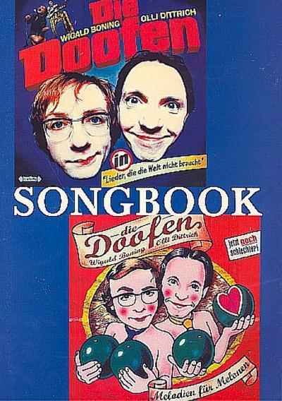 Die Doofen : Songbookfür Gesang und Klavier