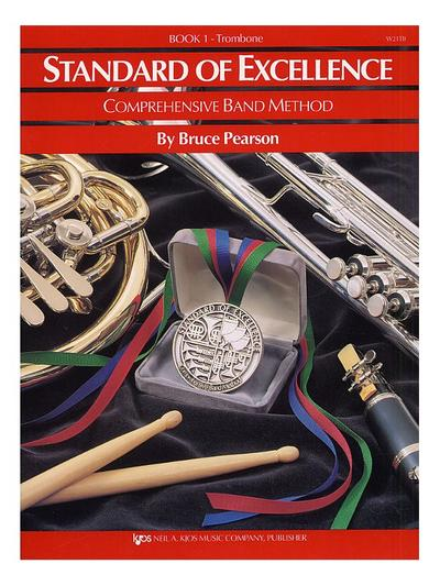 Standard Of Excellence: Comprehensive Band Method Book 1 (Trombone Bass Clef)