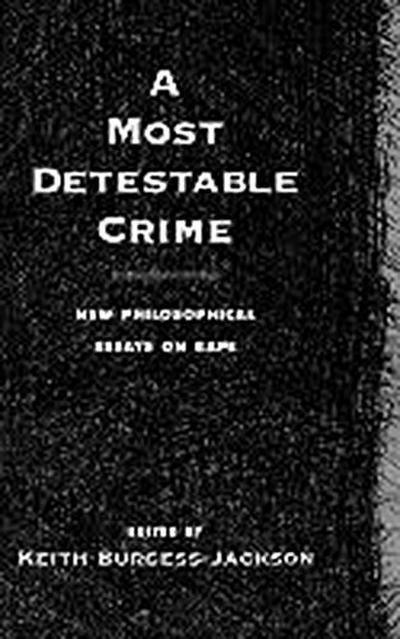 A Most Detestable Crime
