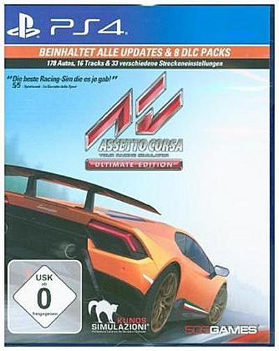 Assetto Corsa Ultimate Edition (PlayStation PS4)